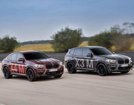 Новые BMW X3 M и X4 M 2019 фото