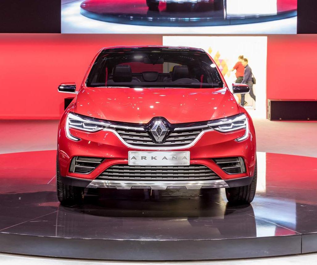 фары, решетка Renault Arkana 2018 – 2019