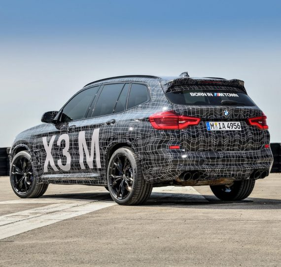 задние фонари BMW X3 M 2019