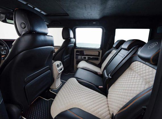Тюнинг салона Mercedes G63 AMG 2019