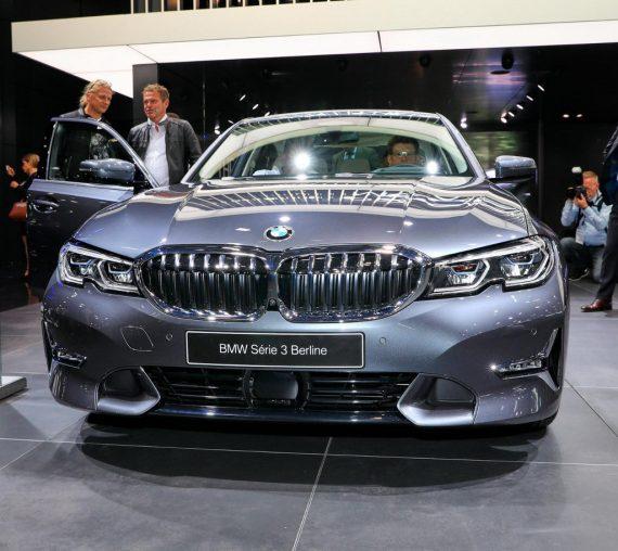 фары, решетка, бампер BMW 3-Series 2021 года