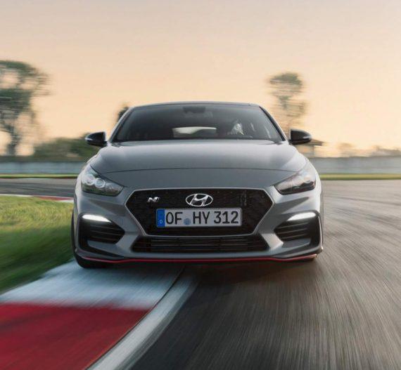 фары, решетка, бампер Hyundai i30 Fastback N 2019
