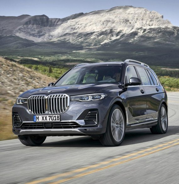 фото BMW X7 2019 года