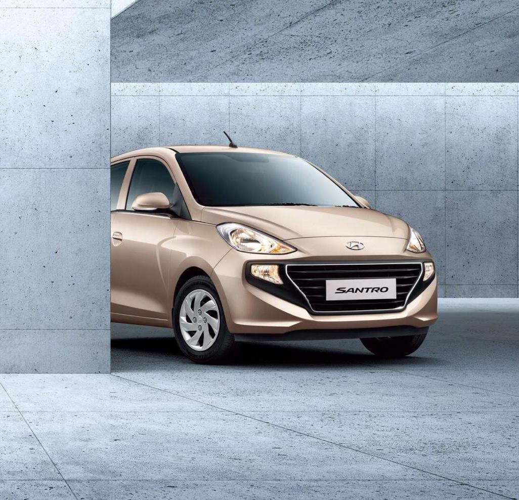 фото Hyundai Santro 2019 года
