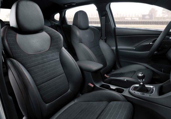 интерьер Hyundai i30 Fastback N 2019