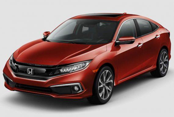 новый седан Honda Civic 2019
