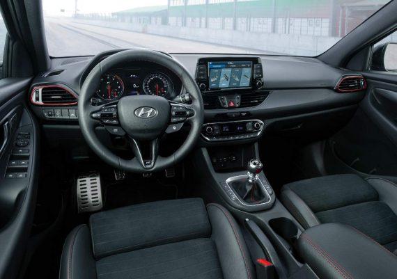 салон Hyundai i30 Fastback N 2019