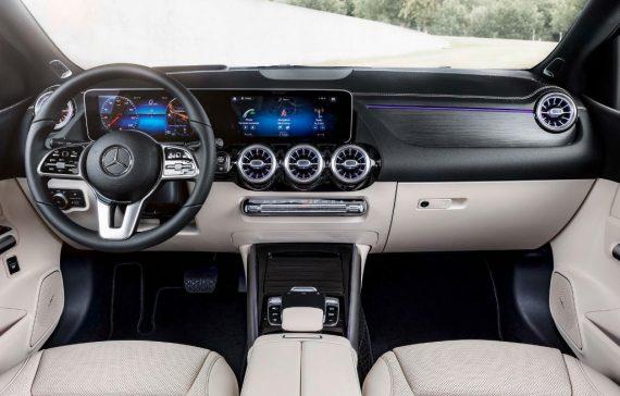 салон Mercedes B-Class 2019 фото