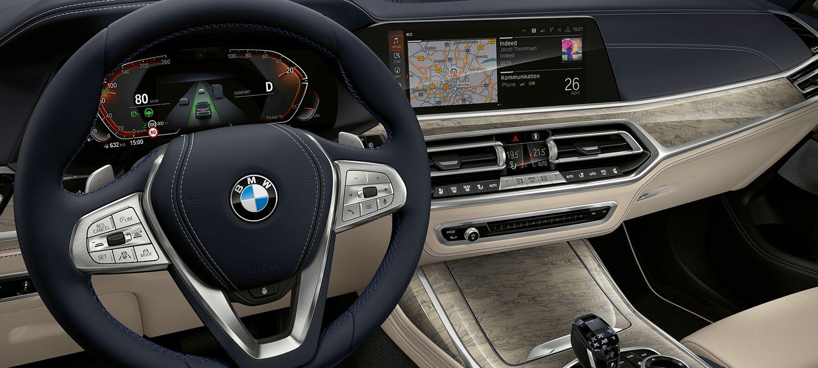 салон BMW X7 в России