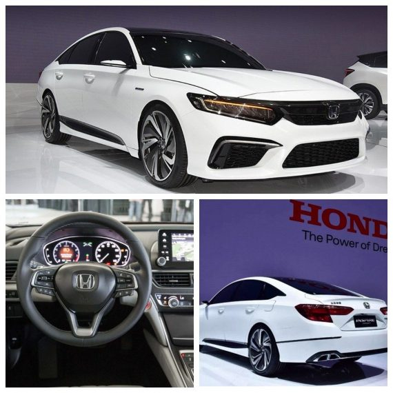 все фото Honda Inspire 2019