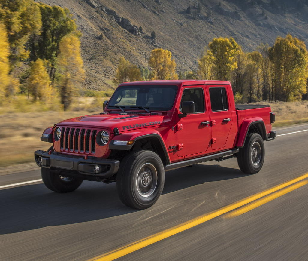фото Jeep Gladiator 2019 -2020 года
