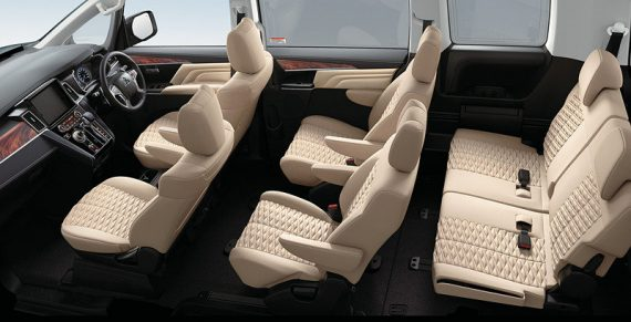 интерьер Mitsubishi Delica 2019