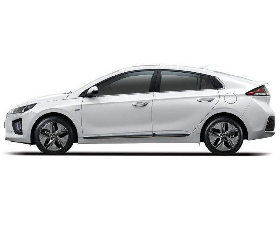 Hyundai Ioniq 2019 – 2020 сбоку