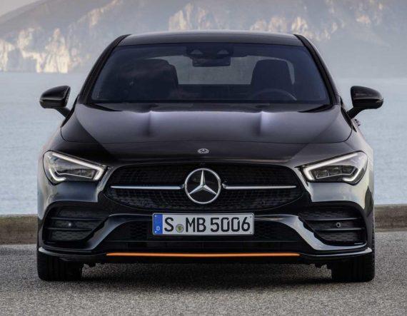 фары, решетка, бампер Mercedes CLA-Class 2020