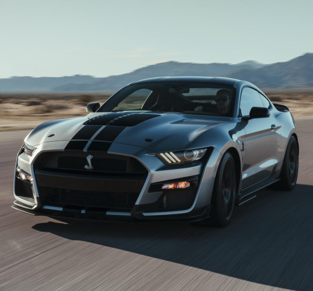 фото Ford Mustang Shelby GT500 2020 года