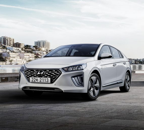 фото Hyundai Ioniq 2019 – 2020 года