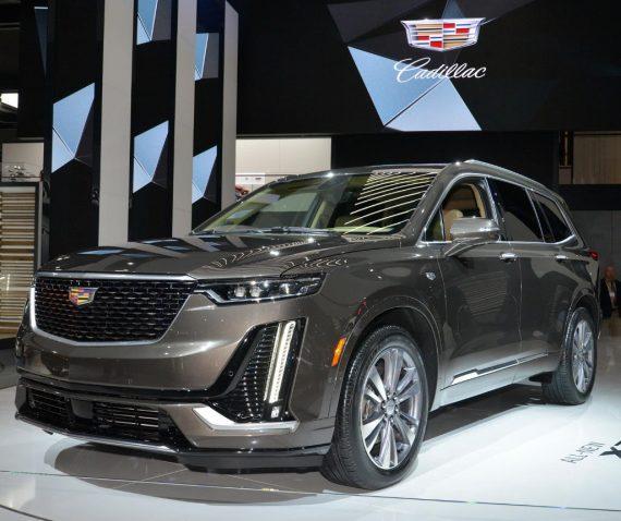 фото нового Cadillac XT6 2020