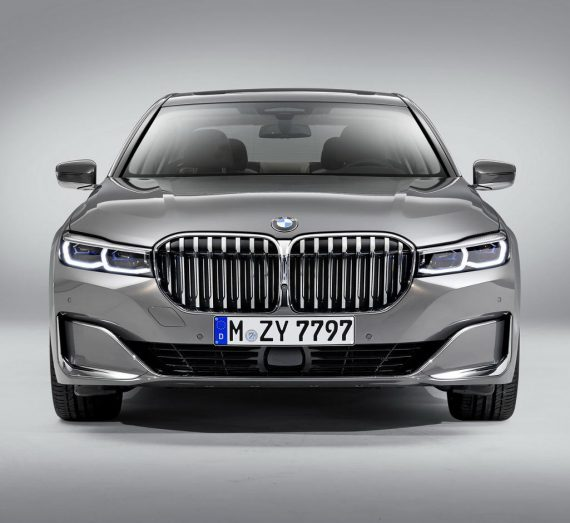 решетка, фары, бампер BMW 7-Series 2019 – 2020