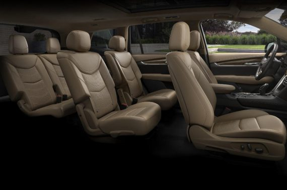 салон Cadillac XT6 2020 фото