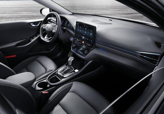 салон Hyundai Ioniq 2019 – 2020 фото