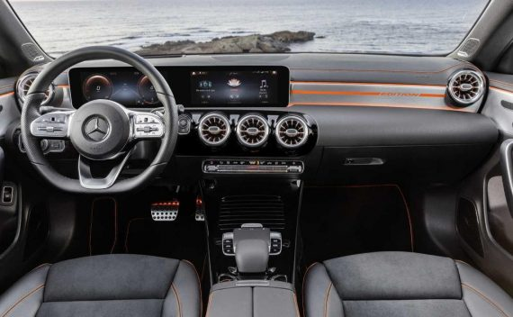 салон Mercedes CLA-Class 2020 фото