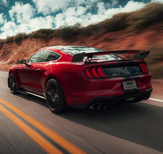 спойлер Ford Mustang Shelby GT500 2020