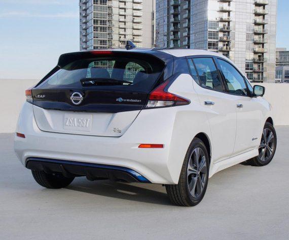 задние фонари Nissan Leaf e+ 2019-2020