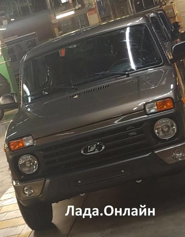новая Lada 4x4 FL 2020 фото