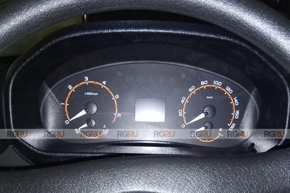 приборная панель Lada 4x4 FL 2020