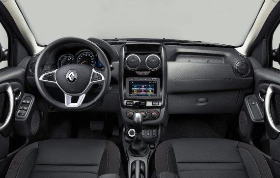 салон Renault Duster 2019 в России