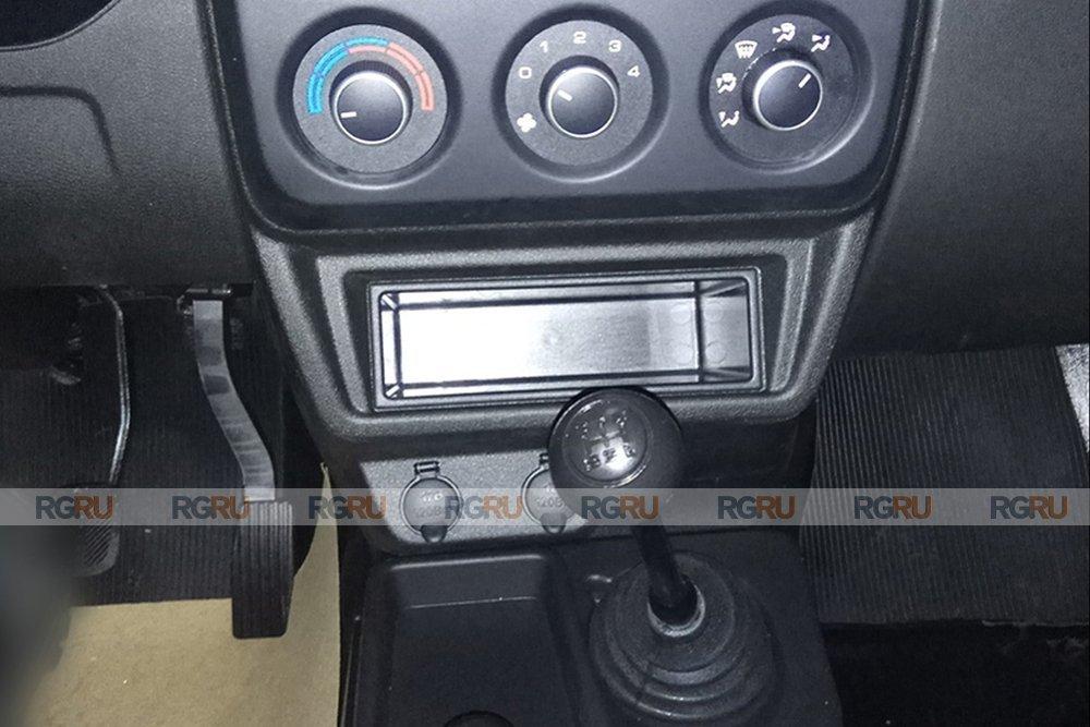 управление печкой Lada 4x4 FL 2020