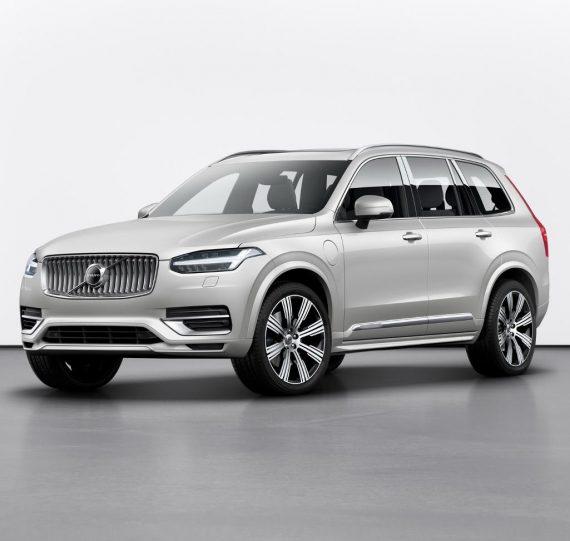 новый Volvo XC90 2020