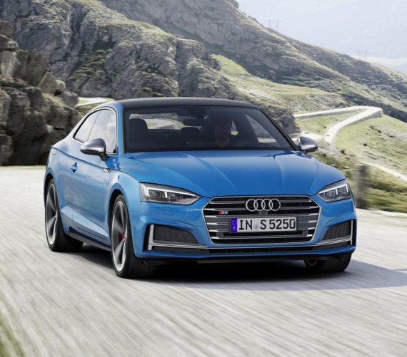 Купе Audi S5 TDI 2020 фото