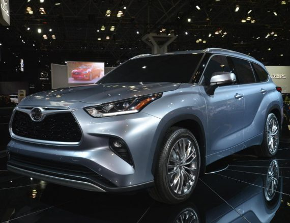 ещё фото Toyota Highlander 2020