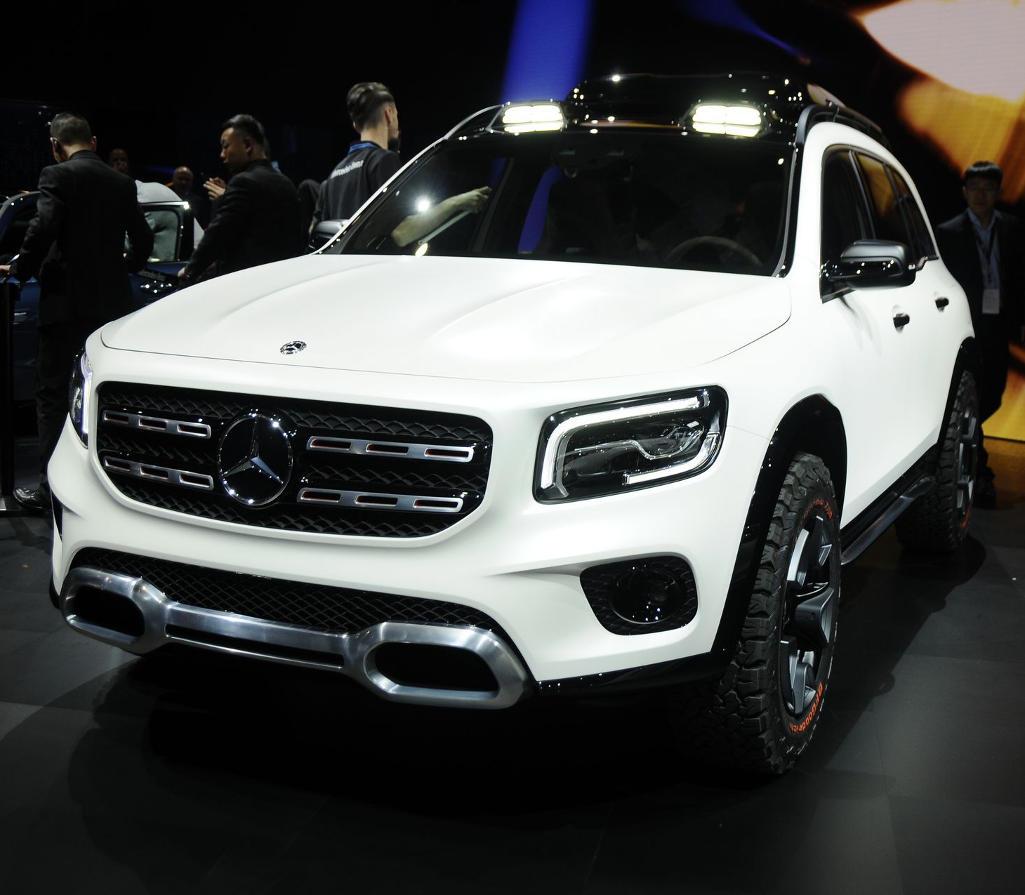 фото Mercedes-Benz GLB 2020 года