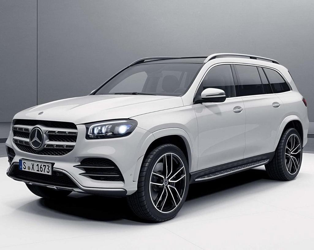 фото Mercedes GLS 2020 года