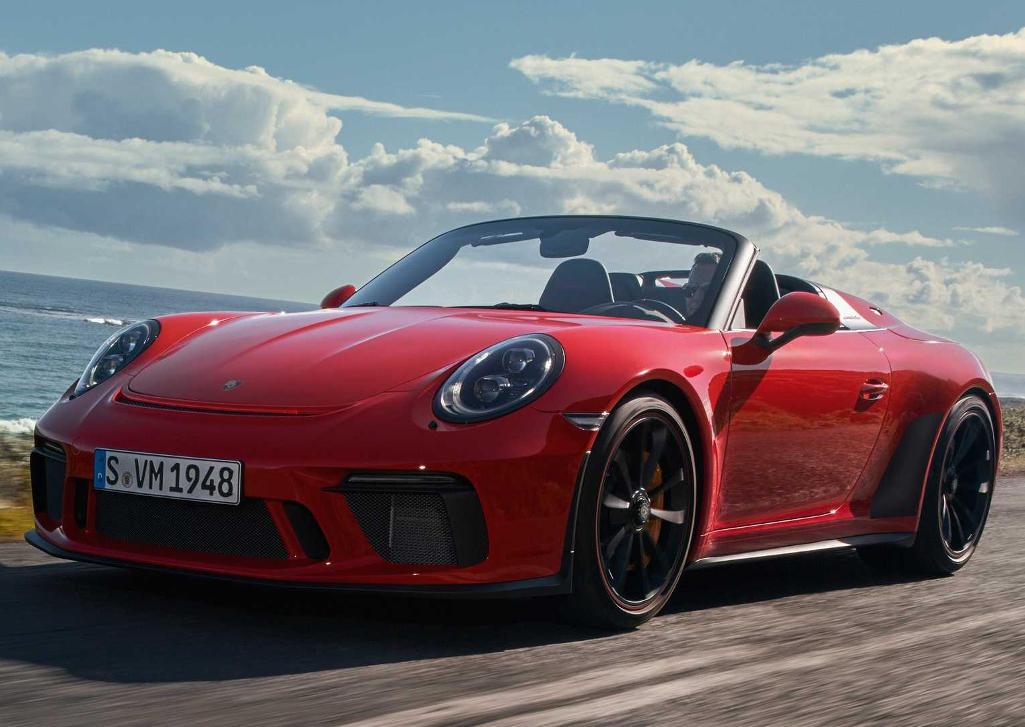 фото Porsche 911 Speedster 2020 года