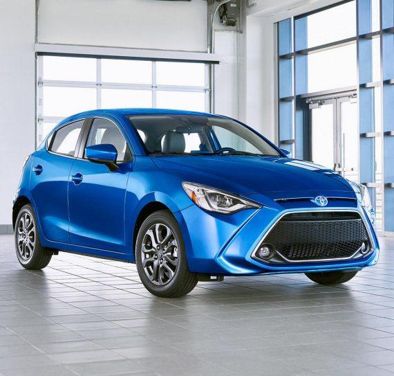 фото Toyota Yaris 2020 года