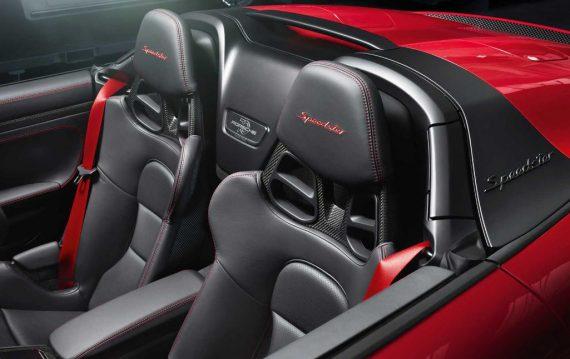 интерьер Porsche 911 Speedster 2020