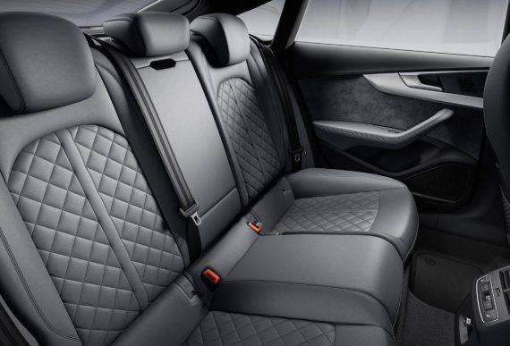 интерьер Audi S5 TDI 2020