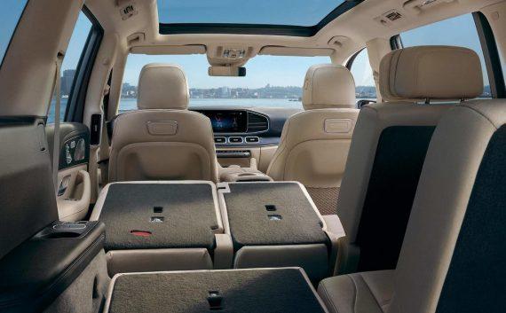 интерьер Mercedes GLS 2020 фото