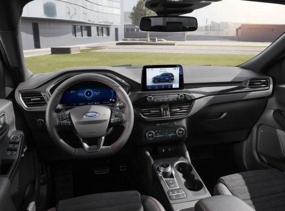 салон Форд Куга 2020 фото