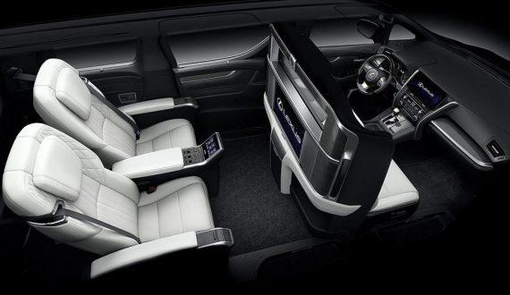 салон Lexus LM фото