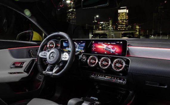 салон Mercedes-AMG CLA 35 2019 – 2020 фото