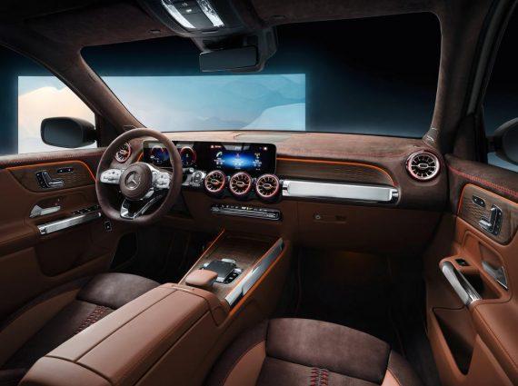 салон Mercedes-Benz GLB 2020