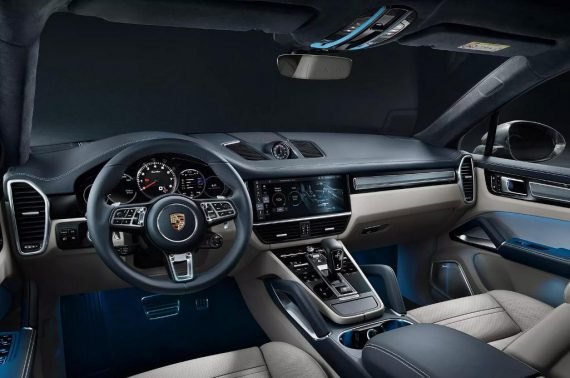 салон Porsche Cayenne Coupe 2020 фото