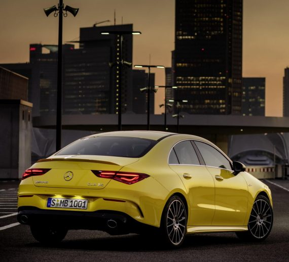 задние фонари Mercedes-AMG CLA 35 2019 – 2020