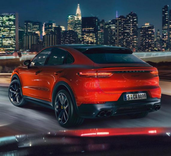 задние фонари Porsche Cayenne Coupe 2020 года