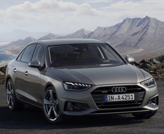 новый седан Audi A4 2020 года фото