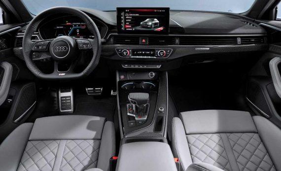 салон Audi A4 2020 фото